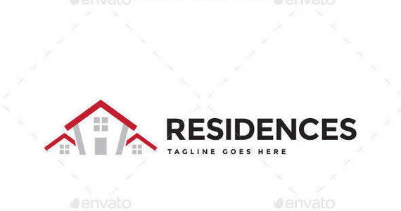 Box residences logo template