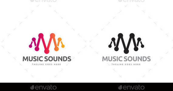 Box music sounds logo template