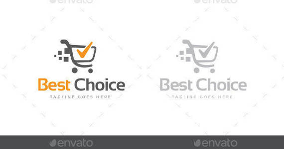 Box best choice logo template