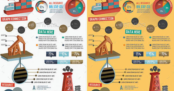 Box preview 20oil 20industry 20infographic 20design