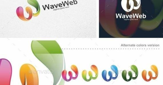 Box wave 20web 20  20logo 20template 20  20preview 20