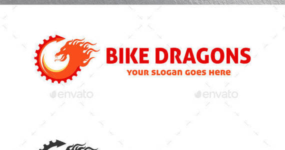 Box bike dragons logo preview