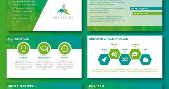 Box preview power point creativex