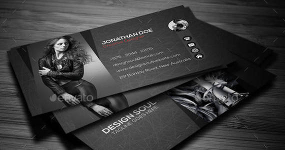Box photography business card preview