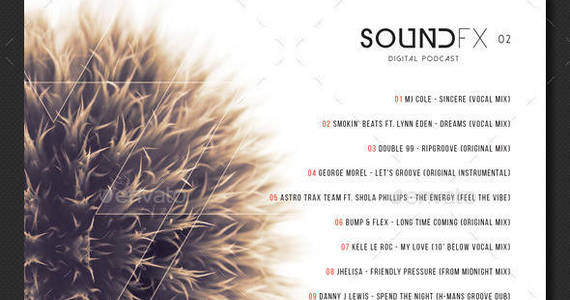 Box soundfx2 cd cover template preview