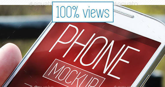 Box phone graphicriver preview