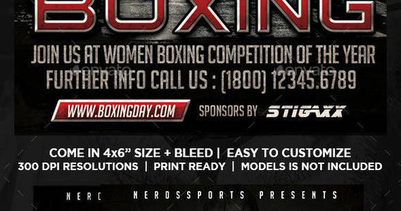 Box womens 20boxing 20championships 20sports 20flyer 20preview