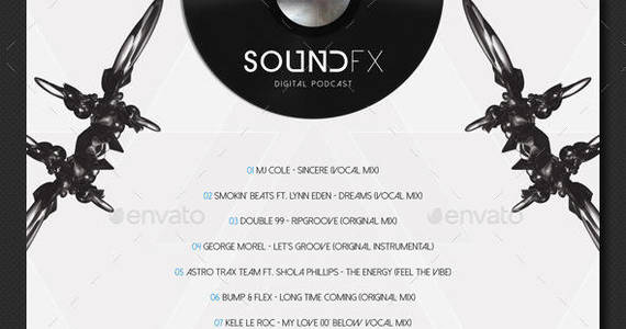 Box soundfx3 cd cover template preview