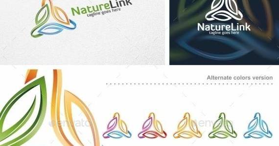 Box nature 20link 20  20logo 20template 20  20preview 20