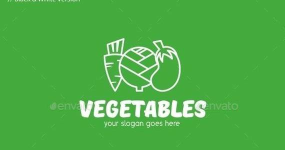 Box vegetables 20logo 20template 20590