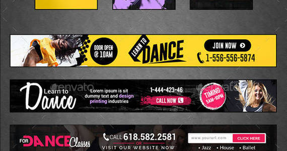 Box nf 444 dance 20class 20banners 20bundle preview