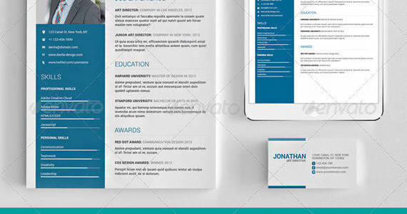 Box resume 20template