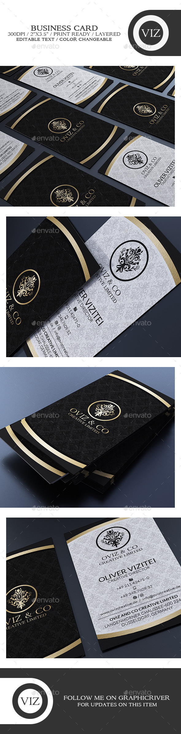 Black 20and 20gold 20business 20card