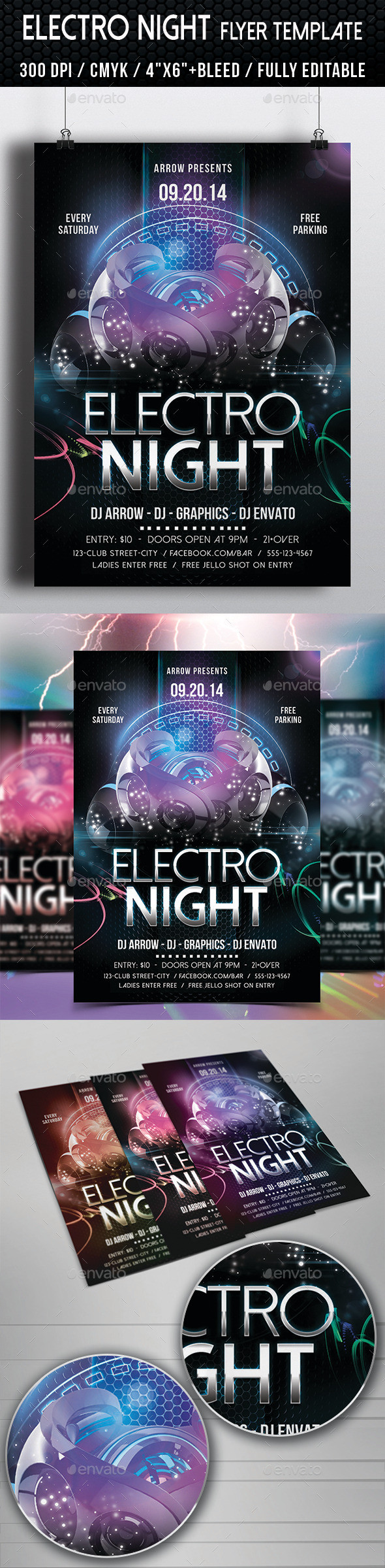 Electro 20night 20flyer 20template 20preview