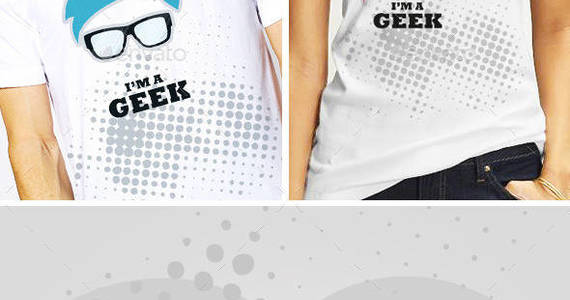Box geek t shirt template