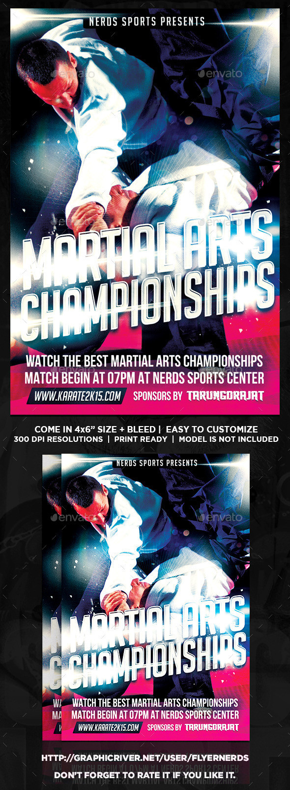 Martial 20arts 202k15 20championships 20sports 20flyer 20preview