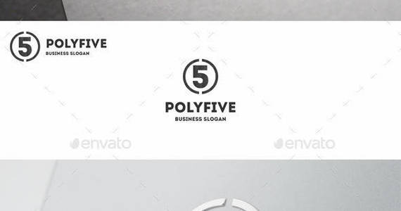 Box five 20logo 20polygonal 20number 1