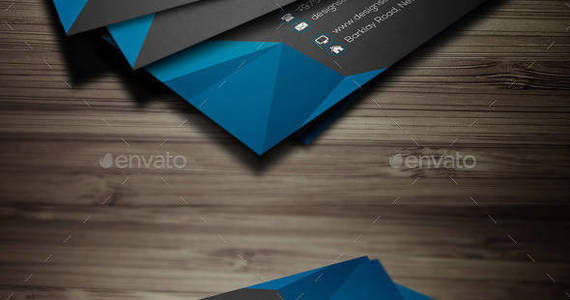 Box abstract creative business card preview
