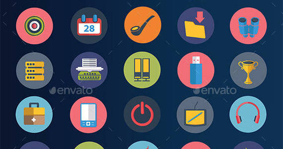 Box preview 2040 20useful 20flat 20icons