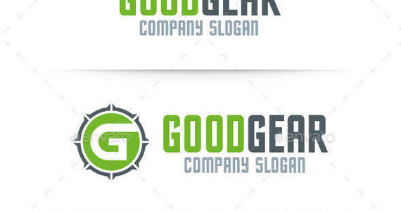 Box good gear letter g logo