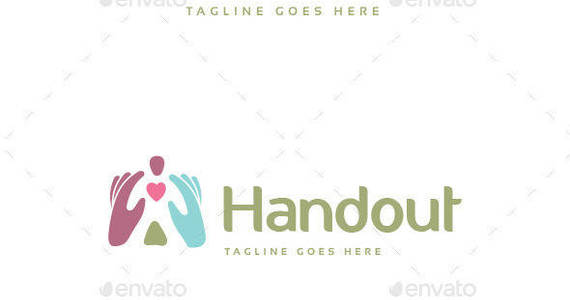 Box handout logo template