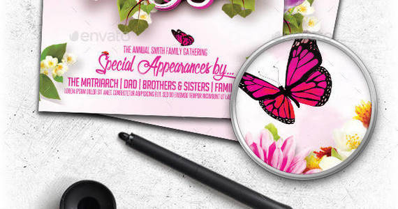 Box preview mothers day flyer template