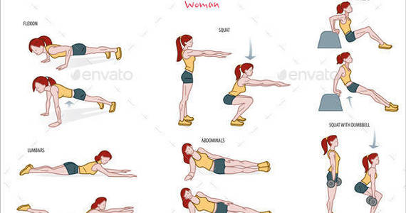 Box strength 20exercise 20routine 20woman 20prreview