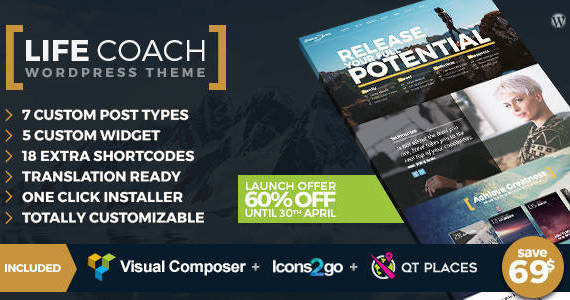 Box life coach wptheme featured image offer.  large preview