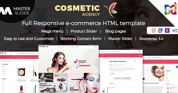 Box cosmetic agency features screen shots.  large preview