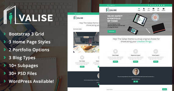 Box 00 themeforest preview.  large preview