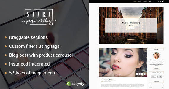Box saara preview shopify.  large preview