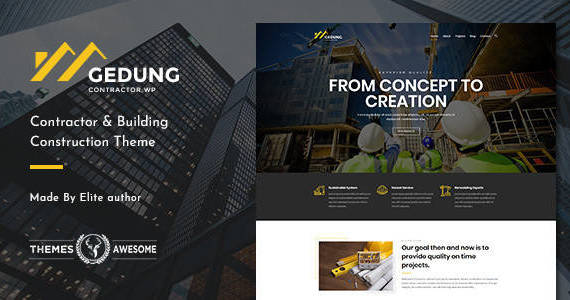 Box gedung feature themeforest.  large preview