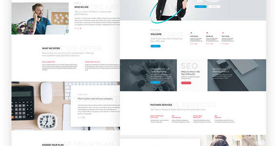 Box high level smm agency joomla template 64630 original