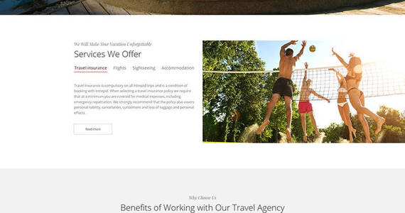 Box travel agency premium moto cms 3 template 66405 original