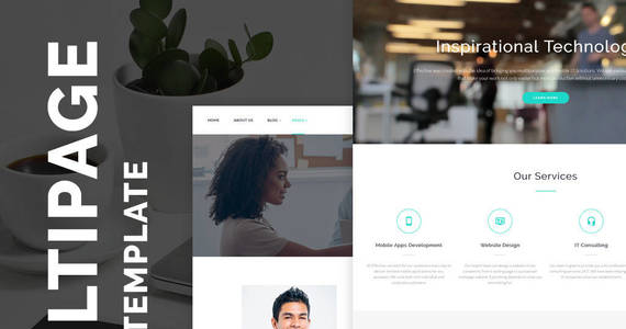 Box effective development  consulting agency website template 64425 original