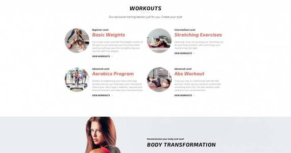 Box fitnesto fitness  gym premium moto cms 3 template 64206 original