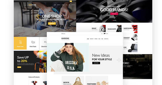 Box kardone auto parts shop shopify theme 62439 original