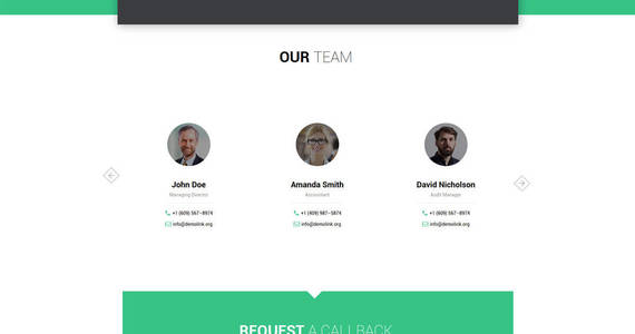 Box easy audit multipage consulting website template 61349 original