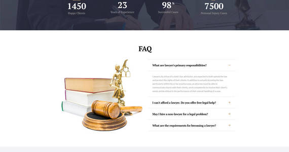Box law expert law firm responsive website template 61317 original