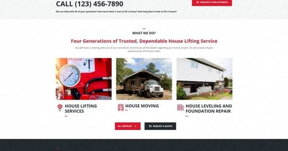 Box house lifting and moving company moto cms html template 68014 original