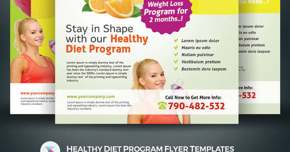 Box 1681934 1529237140204 01 template monster healthy diet program flyer templates kinzi21
