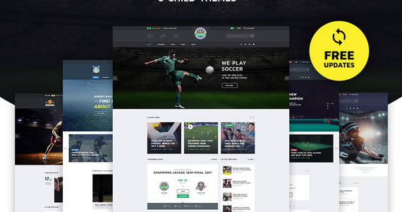 Box allstar sport multipurpose bootstrap 4 website template 63853 original
