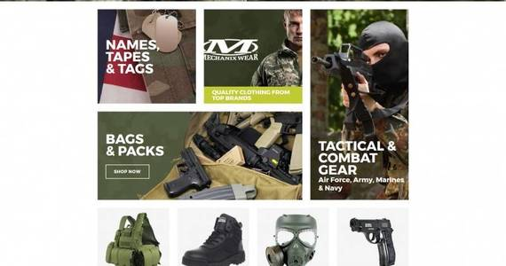 Box hardkit us army military store motocms ecommerce template 66562 original