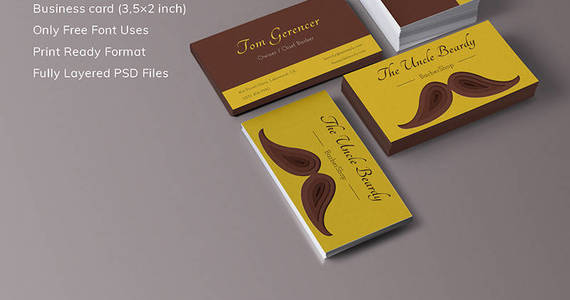 Box tom gerencer chief barber corporate identity template 68047 original