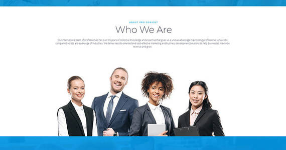 Box pro consult business motocms 3 landing page template 67953 original