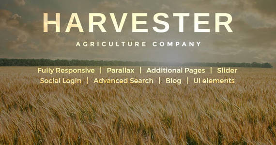 Box large picture agriculture joomla template 45560 original