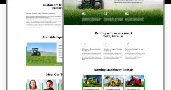 Box rentallo farm equipment joomla template 61204 original