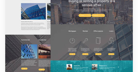 Box real estate responsive joomla template 62160 original