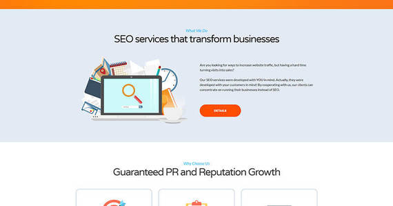 Box seo landing page template 66383 original
