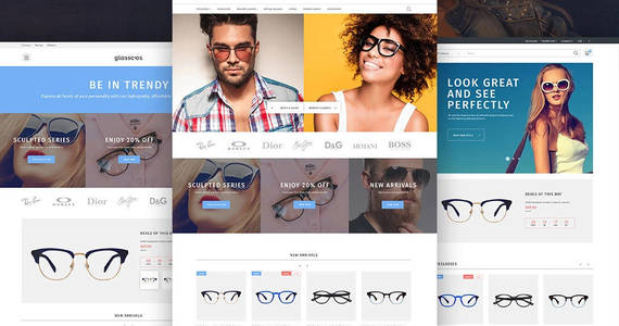 Box glasscos prestashop theme 64764 original
